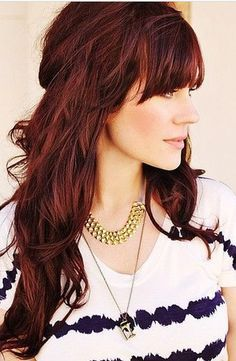 Perfect redhead hairstyles for Fall!