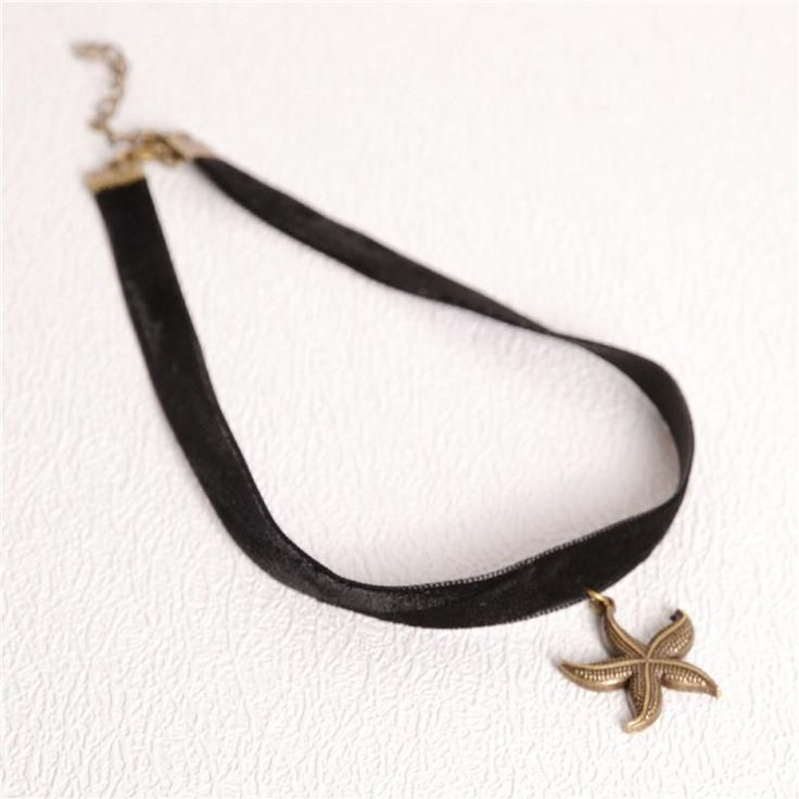 Black Tattoo Choker Necklace Women Jewelry Elastic Adjustable