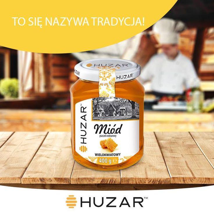 Czy wiecie że pszczoły dzisiaj tworzą miód w dokładnie taki sam sposób jak kilkanaście tysięcy lat temu? To się dopiero nazywa tradycja :D Na wyciągnięcie ręki we wszystkich możliwych wariacjach dzięki ofercie Huzar ;) #tradycja #miód #pszczoły #ciekawostki
