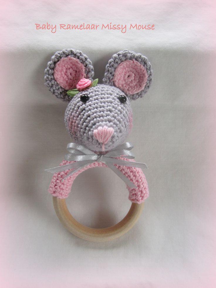 Baby Rammelaar Missy Mouse