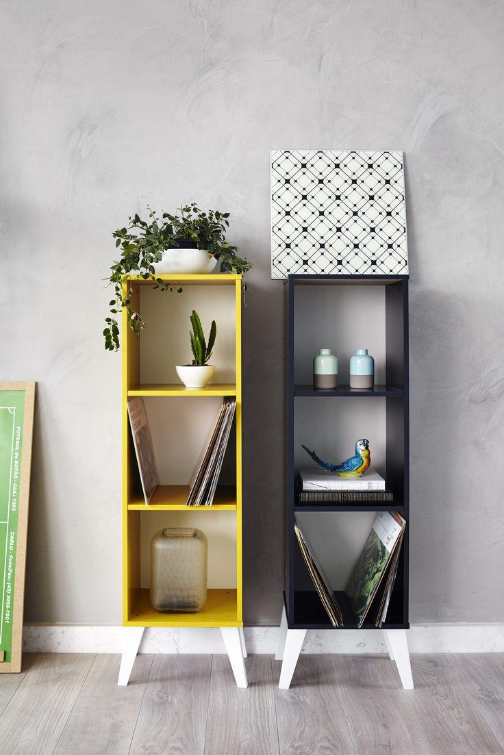 Que tal essas estantes funcionais e decorativas para dar um up no ambiente?
