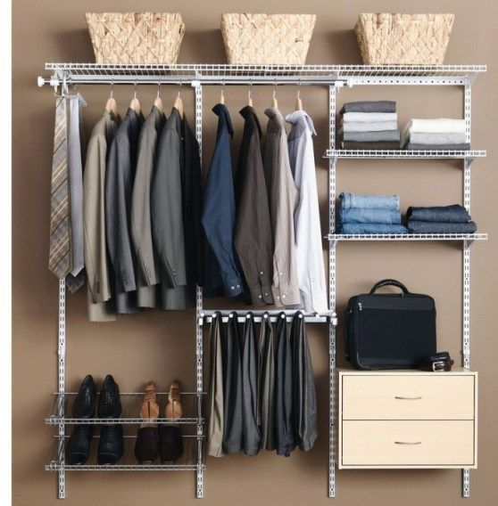 Top 25 Ideas About Men 39 S Closet Organizer On Pinterest