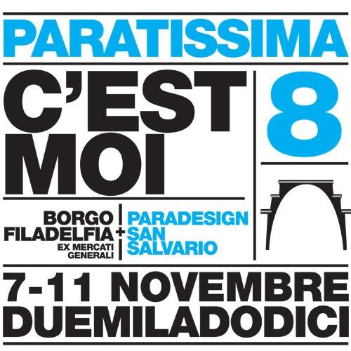 Espositori, relatori, organizzatori e artigiani sono pronti ad invadere Torino: Torna PARATISSIMA DESIGN edizione 2012!    http://www.gliartigianauti.com/2012/11/04/paratissima-design-2012-esposizioni-dibattiti-incontri/
