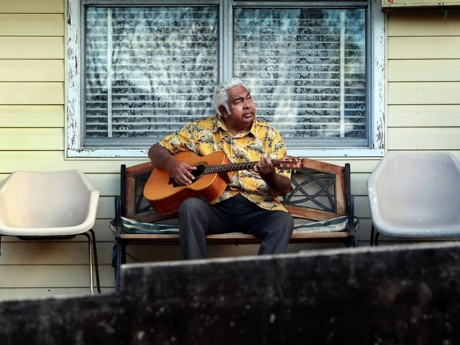 Jimmy Little (March 1, 1937 – April 2, 2012)  Jimmy Little was an Australian Aboriginal musician, actor and teacher. He was raised on the Cummeragunja mission in New South Wales and was from the Yorta Yorta people. He was inducted into the ARIA Hall of Fame in 1999. Picture: Alan Pryke