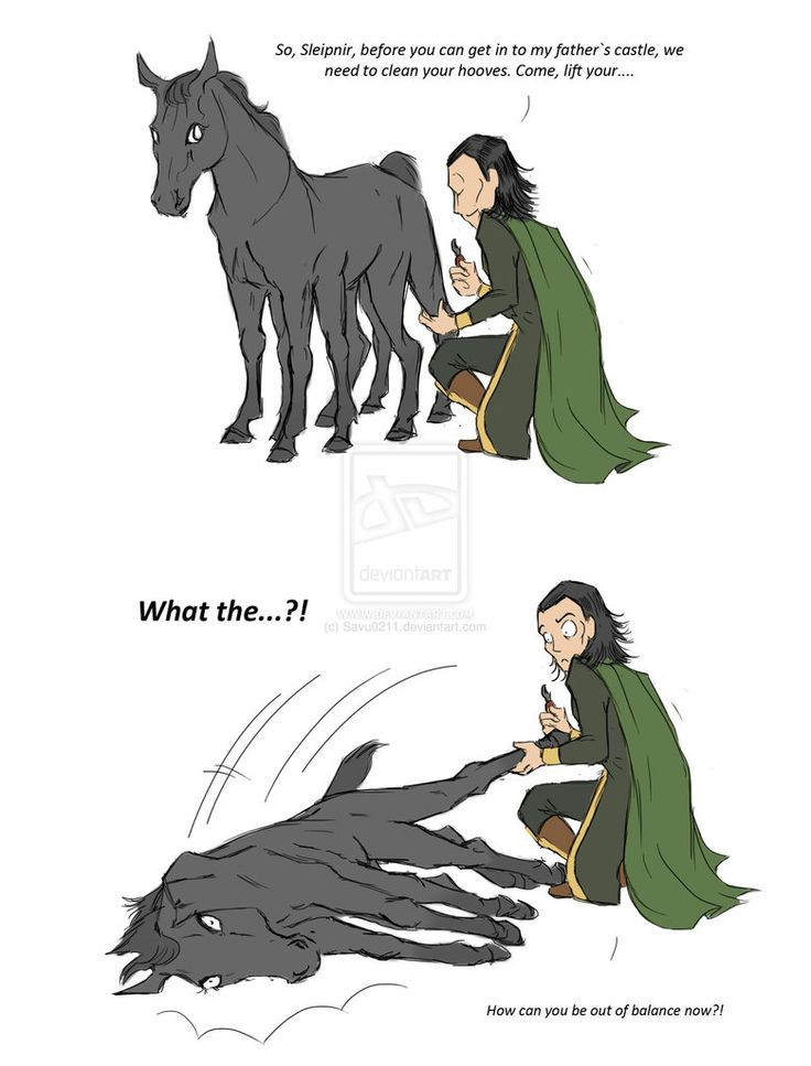 Oh my gawd Sleipnir stop giving father problems to worry about geez