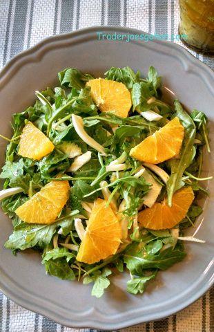 トレジョのルッコラとフェンネルとオレンジでサラダ レシピ by momo ...