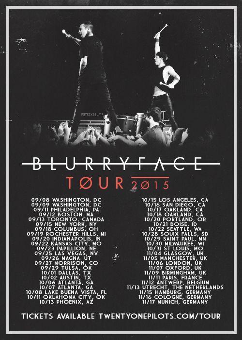 Pilots Tour Dates Uk
