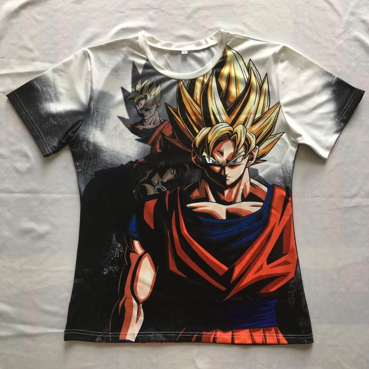 Newest Classic Anime Dragon Ball Z Super Saiyan 3D T Shirt Fire Black Goku t shirts. Click visit to buy #TShirt