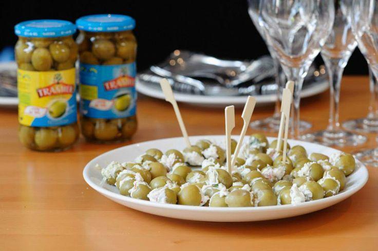 Tramier propose aussi des olives, avec -25% de sel !