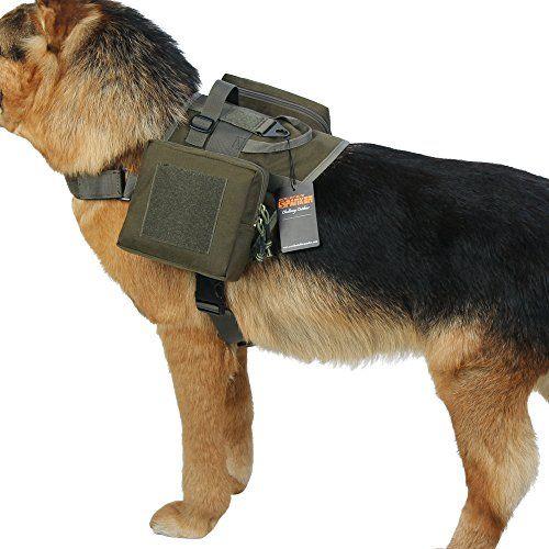 Excellent Elite Spanker Tactical Dog Harness Training Vest Molle