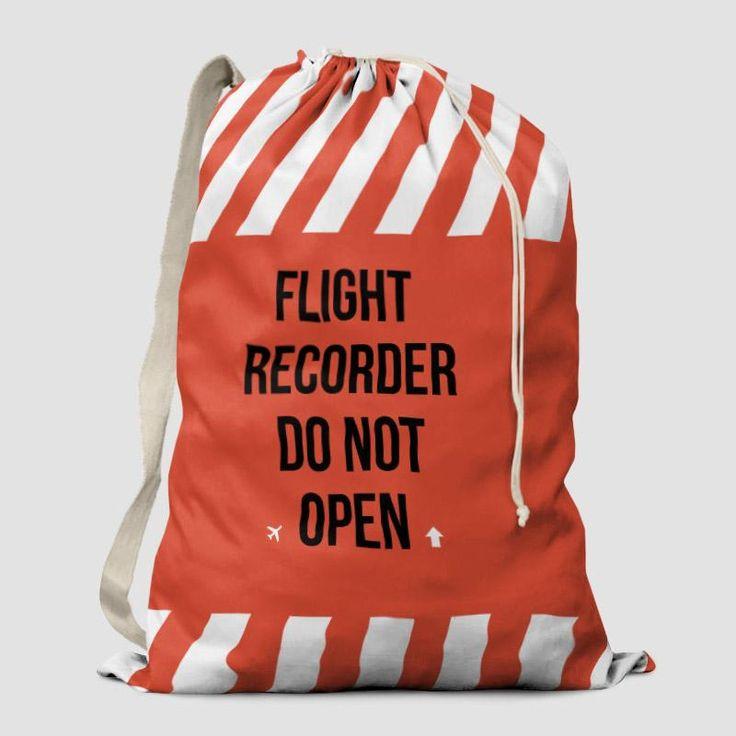 Flight Recorder - Laundry Bag
