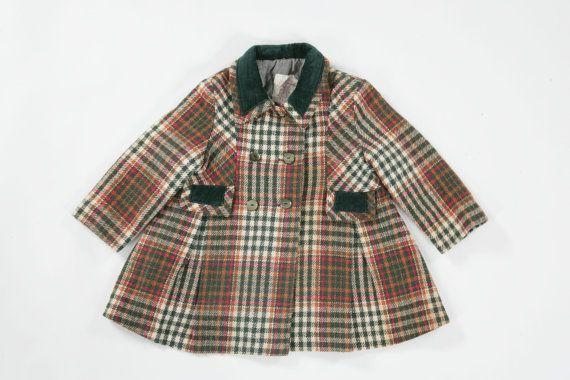 Baby girls vintage jacket. Age 18mths 2 by PeachandLoveVintage, £35.00