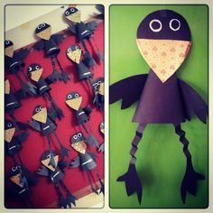 cone shaped crow craft
