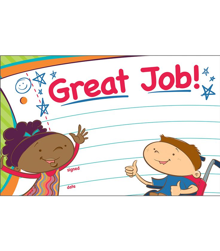 """Carson Kids Recognition Awards- Celebrate a job well done with the spunky Carson Kids Recognition Award. These bright, unique characters are sure to be a hit with your students. Easy to personalize and customize to any occasion and student, this is an award each student will want to earn. Available in packs of 30. Great to have on hand to celebrate students' positive accomplishments and achievements, or for any behavior management program! Each sheet measures 5.5"""" x 8 ½""""."""