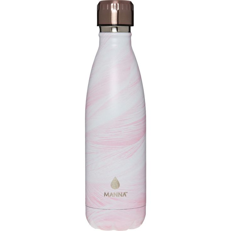 Pink Feather Water Flask 500ml - Kitchen - Home - TK Maxx