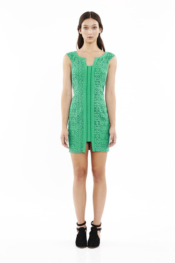 Crazy Diamond Dress in Jade