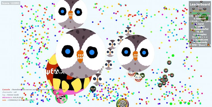 ... nickname agario unblocked server score 122093 agariohit.com game - Player: ... / Score: 122093