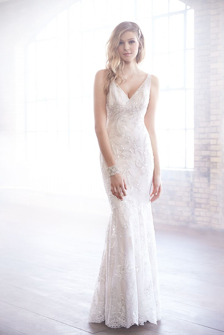 Stunning Madison James Wedding Dress Photos by Allure Bridals Image of WeddingWire Mobile
