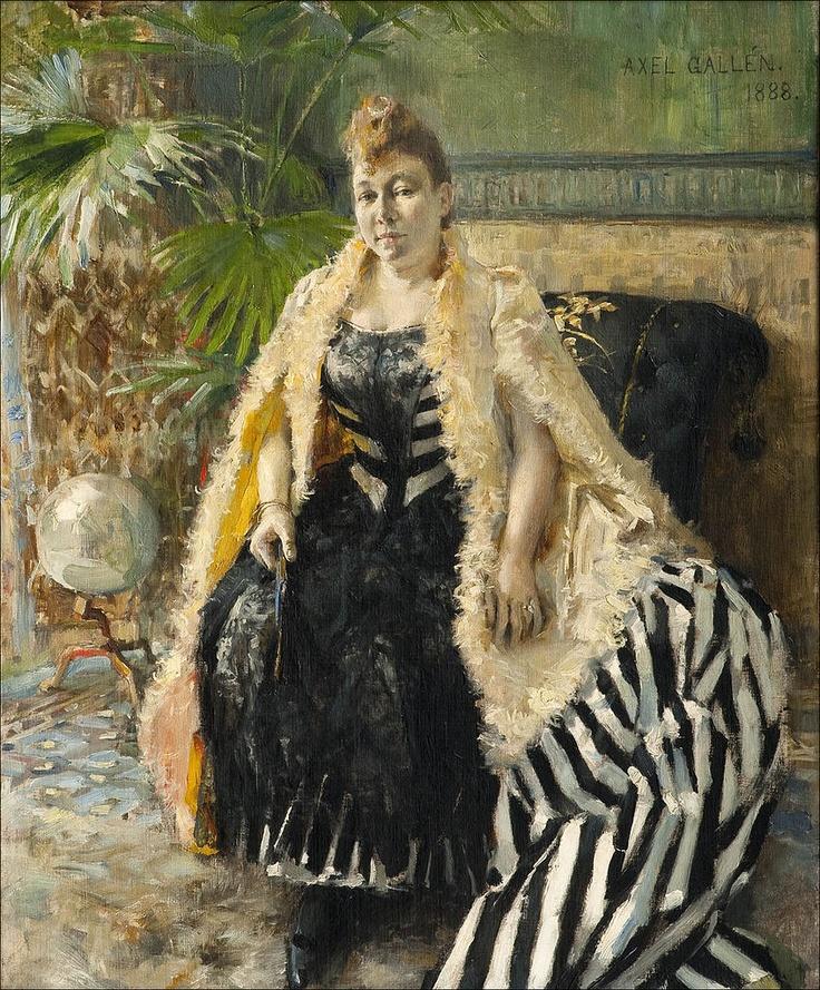 Akseli Gallen Kallela - Parisienne - 1888.