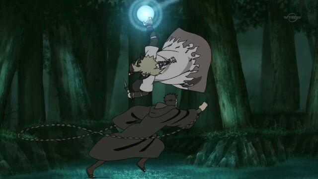 """Minato vs """"Tobi""""."""
