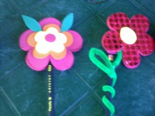 Lapices decorados con foami - Imagui