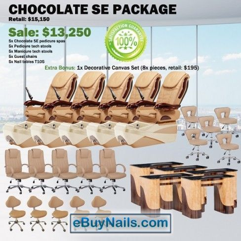 Chocolate SE Spa Pedicure Chair Package – Free shipping - $12850 ,  https://www.ebuynails.com/shop/chocolate-se-spa-pedicure-chair-package-free-shipping/ #pedicurespa#pedicurechair#pedispa#pedichair#spachair#ghespa#chairspa#spapedicurechair#chairpedicure#massagespa#massagepedicure#ghematxa#ghelamchan#bonlamchan#ghenail#nail#manicure#pedicure#spasalon#nailsalon#spanail#nailspa#massagechair