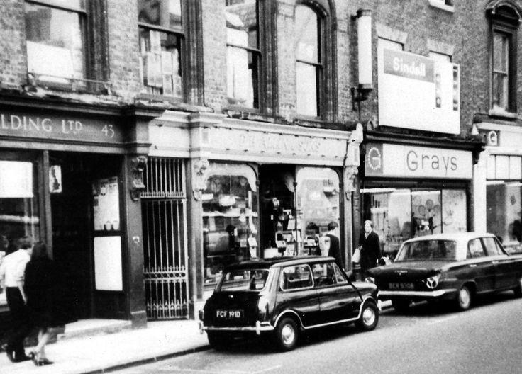 Sidney Street 1970's