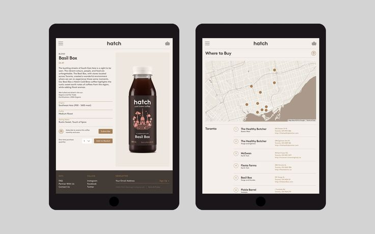 Hatch Cold Brew Coffee Identity, Packaging & Website on Behance