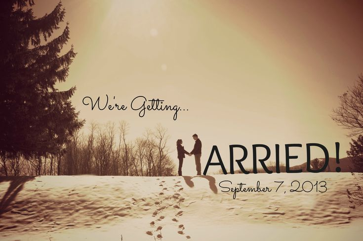a recent shot i took, and created a save the date with.  In the snow, sunshine and love :)  www.melissazinkphotography.com