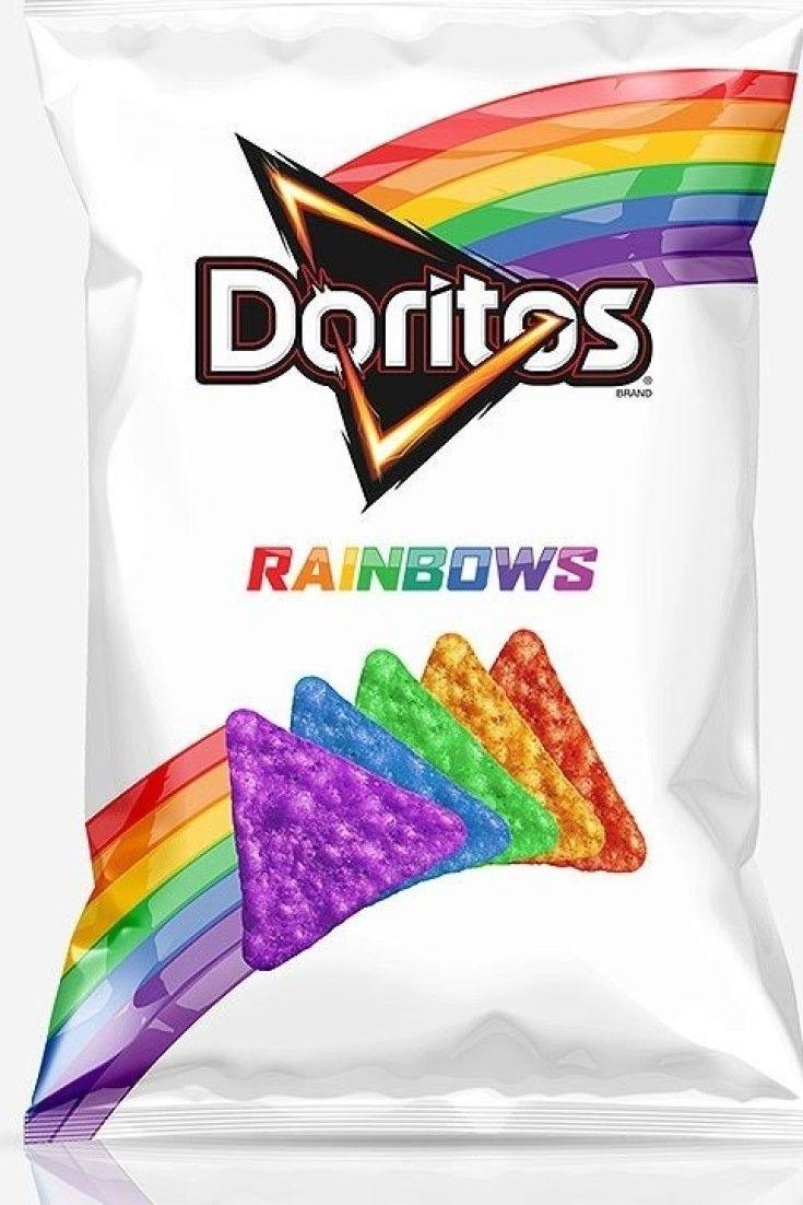 Doritos lança salgadinho da cor do arco-íris em apoio à causa LGBT