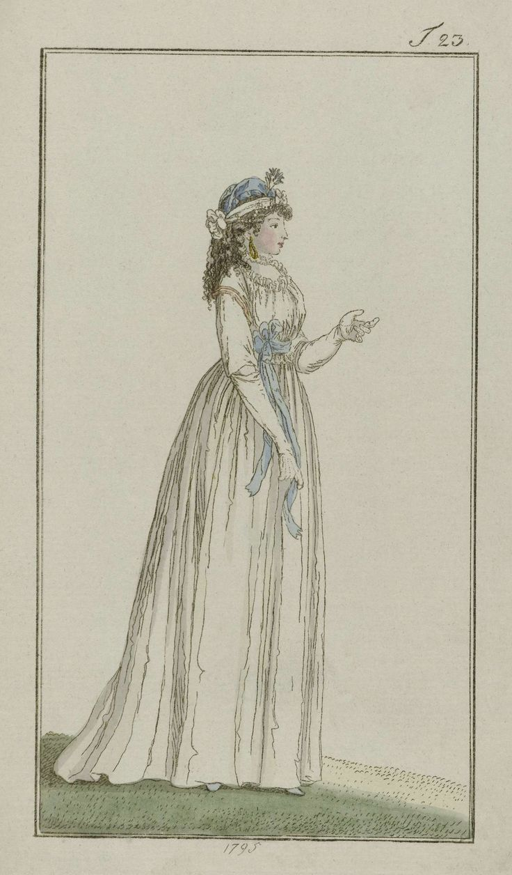 1795 - Journal des Luxus und der Moden