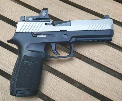 SIG P320 RX review: Ready-to-rock optic equipped pistol
