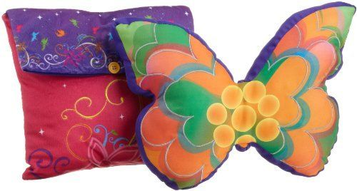 Disney Tink Surreal Garden Decorative Pillow, Pack Of 2, 2015 Amazon Top Rated Pillows #Home
