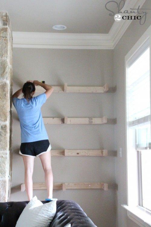 Best 20+ Living room shelves ideas on Pinterest | Living room ...