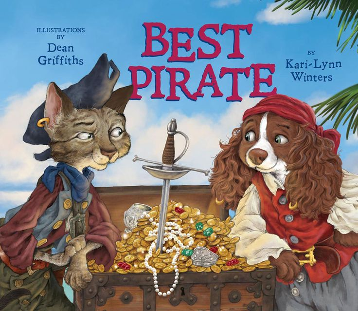Best Pirate by Kari-Lynn Winters and illustrator Dean Griffiths | Hakai Magazine review
