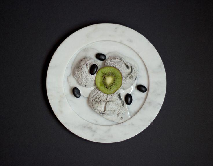 Marble plate with ice cream from Stenhuggardottern — #Marble #Plate #IceCream