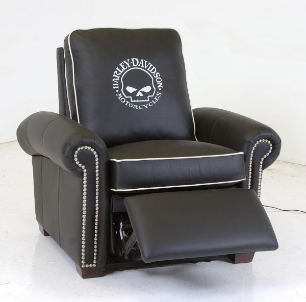 Harley-Davidson Motorized Reclining Chair