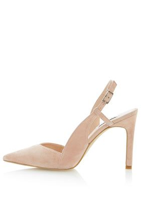 **Carmella Sling Back Pointed Court Shoes by Dune