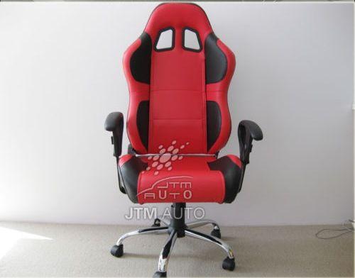 Racing seat computer chair