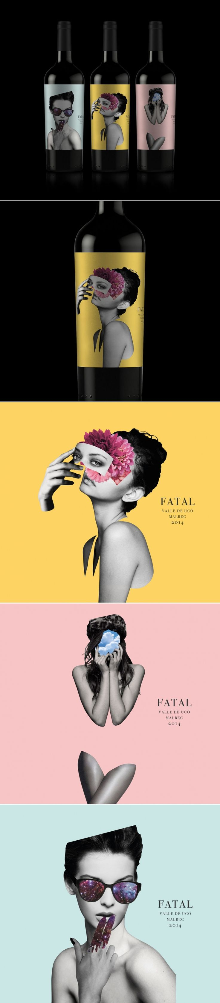 Channel Your Inner Femme Fatale With This Intriguing Wine — The Dieline | Packaging & Branding Design & Innovation News