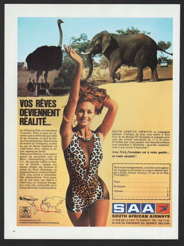 South african Airways Advert