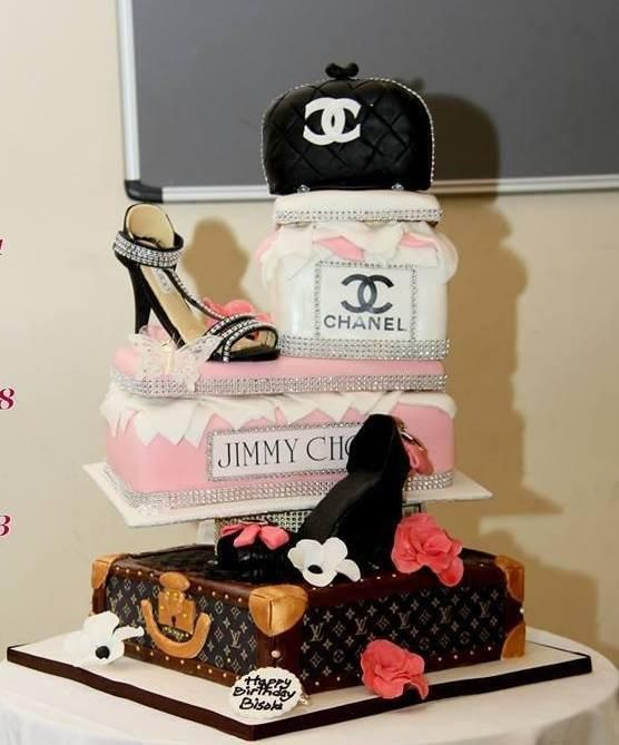 fashionista cake - Cake by Brenda Williams