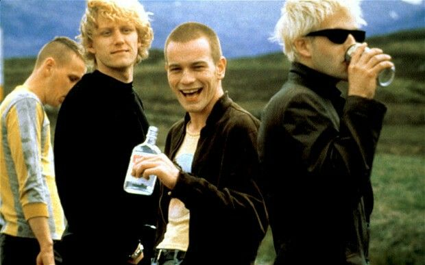 Trainspotting Spud tommy mark et Sick boy