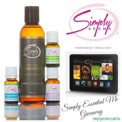 Simply Aroma Spa Pack + Kindle Fire HDX Giveaway - Bay Area Mommy