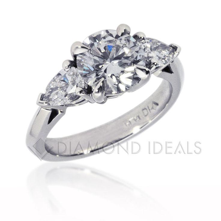 Best 25+ Side stone engagement rings ideas on Pinterest ...