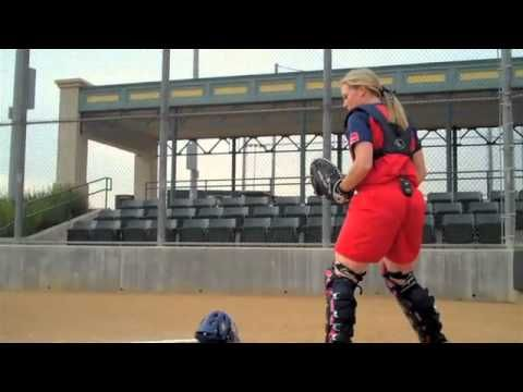 Catching Tips-Throwing with Ashley Holcombe USA Softball