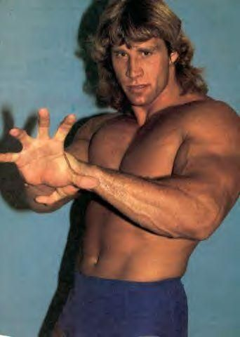1980s Kerry Von Erich demonstration of his signature move the iron claw. http://ift.tt/2erUQdH