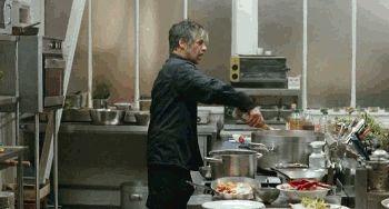 "Birol Ünel, ""Soul Kitchen"" (Fatih Akin, 2009)."