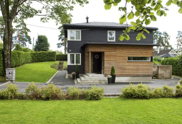 åpent hus: Funkis på Jar / Modern Norwegian villa