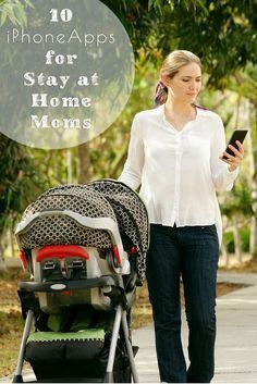 Top 10 iPhone Apps for Stay at Home Moms #IphoneApp